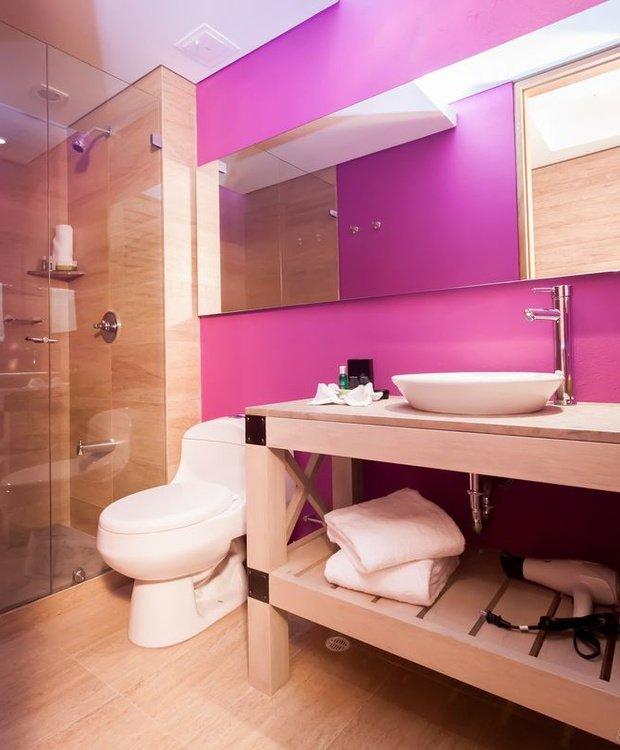 Salle de bains Hôtel Mika